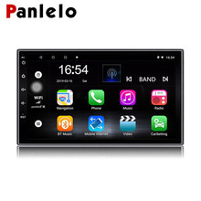 Panlelo S2 2 DIN Android Car Radio Double Din 8.1 Quad Core 7 H 1GB RAM And 16GB ROM Mirror LinkD Touch Screen GPS  Navigation
