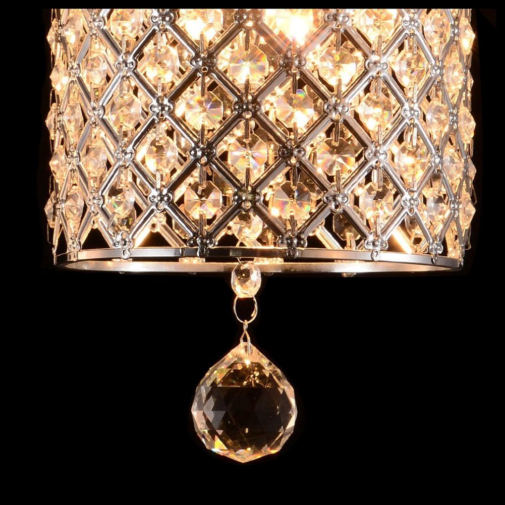 Vintage Modern Fixture Ceiling Light Lighting Crystal Pendant Chandelier Lamp mymei modern new crystal led ceiling light fixture pendant lamp lighting chandelier