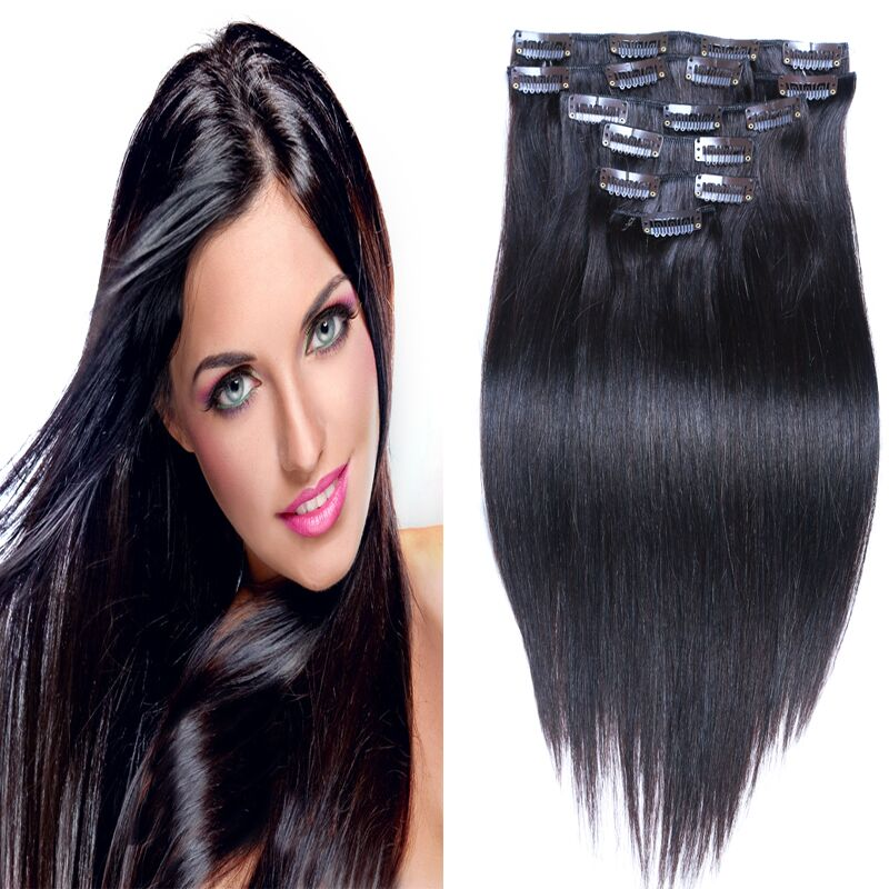 Real human hair extensions for sale images hair extension hair hot sale brazilian clip in human hair extensions 100 real human hot sale brazilian clip in pmusecretfo Choice Image