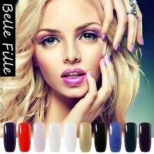 237 Pure Color Gel Nail Sexy Mix Gel Varnish Pretty Nail Polish Nailpolish Vogue Nails Resin Gelpolish Glue Lamp
