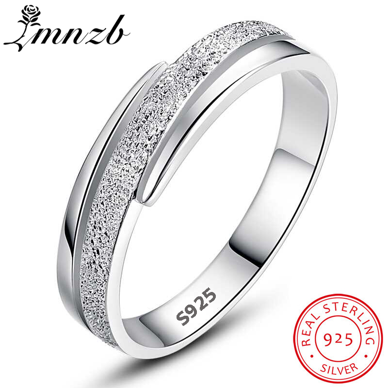 LMNZB New Design Frosted interwoven Wedding Ring Original 925 Sterling Silver Rings For Women Fine Jewelry Best Gift MSJZ002LMNZB New Design Frosted interwoven Wedding Ring Original 925 Sterling Silver Rings For Women Fine Jewelry Best Gift MSJZ002