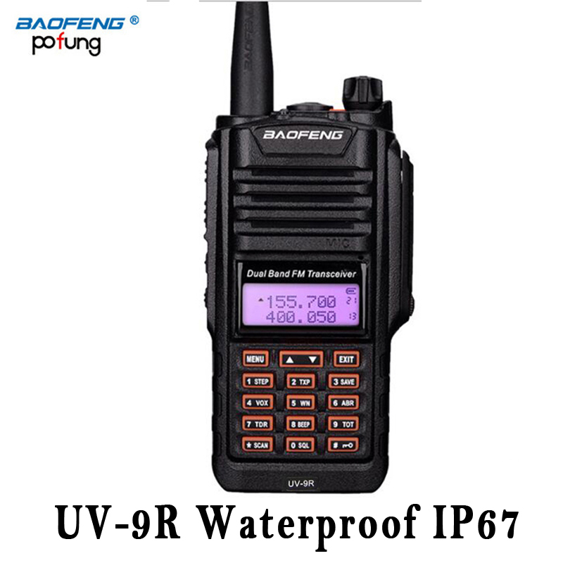 Baofeng UV 9R UV 9R UV9R Waterproof Walkie Talkie Two CB Ham VHF UHF Radio IP67