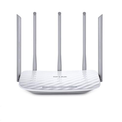 Routeur WiFi Dualband TP Link Archer C60 Ac1350 450 mo en 2,4 GHz et 867 mo en 5 GHz 4 p ETH 5 antennes fixes