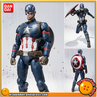 Captain America: Civil War Original BANDAI Tamashii Nations SHF/ S.H.Figuarts Toy Action Figure Captain America
