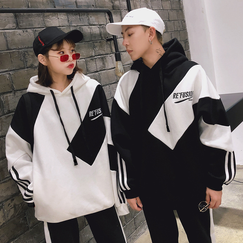 Christmas Family Matching Clothes Father Mother Boy Girl Friend Family Look Wear Korean Hoodie Oversize Women Couple Outfits 11