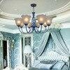 Nordic Vintage Wrought Iron Chandelier 110V 220v LED Bulb E27 Loft Lamps Light Industrial Lamps Modern
