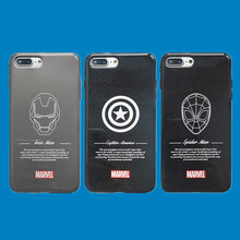 Simple Marvel Cartoon Pictures Phone Cover Case For Iphone X Xs Max Xr 10 8 7 6 6s Plus Matte Luxury Soft Silicone Coque Fundas