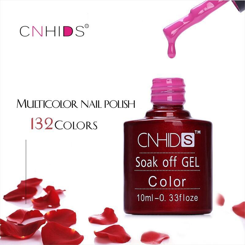 Здесь продается  2018 NEW CNHIDS 50PC Nail Gel Polish UV&LED Shining Colorful 132 Colors 10ML Long lasting soak off Varnish cheap Manicure  Красота и здоровье