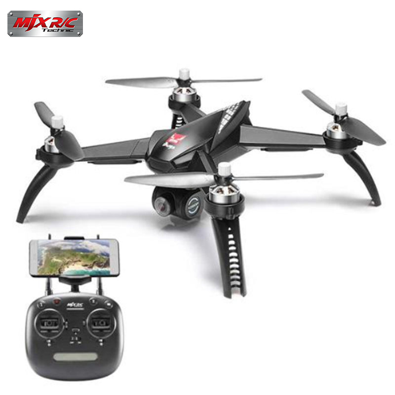 In Stock MJX Bugs 5 W B5W 5G WIFI FPV With 1080P Camera GPS Brushless Altitude Hold RC Drone Quadcopter RTF Black VS B2W B2C 610 349 7518 poa lmp142 original bare lamp for sanyo plc wk2500 plc xd2600 xd2200 plc xe34 plc xk2200 plc xk2600 plc xk3010