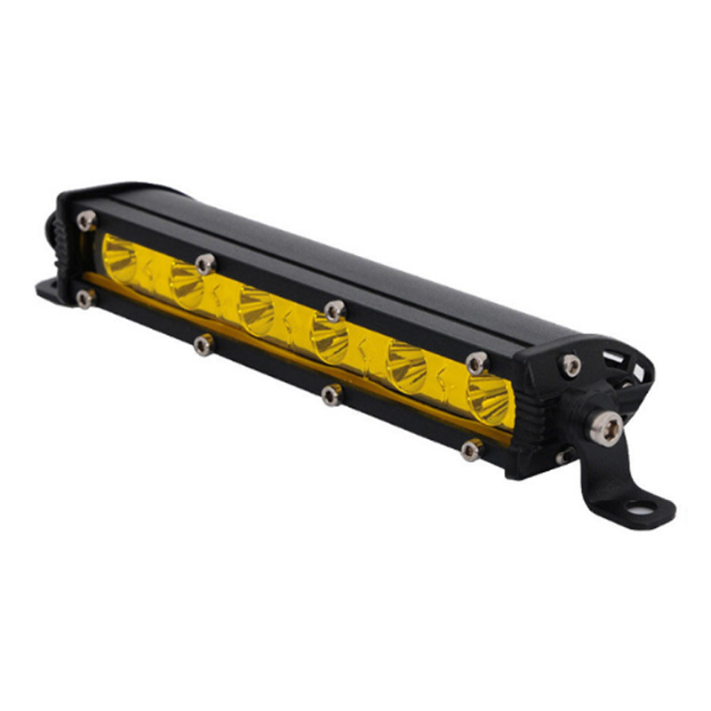 7inch 18W 13inch 36W Car LED Work Light Bar Lemon Yellow For Niva Offroad 4x4 JEEP SUV ATV Tractor Boat Motorcycle DC 12V 24V