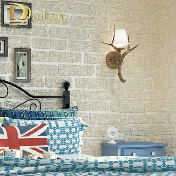 online kaufen großhandel braun grüne tapete aus china braun ... - Wohnzimmer Grun Grau Beige
