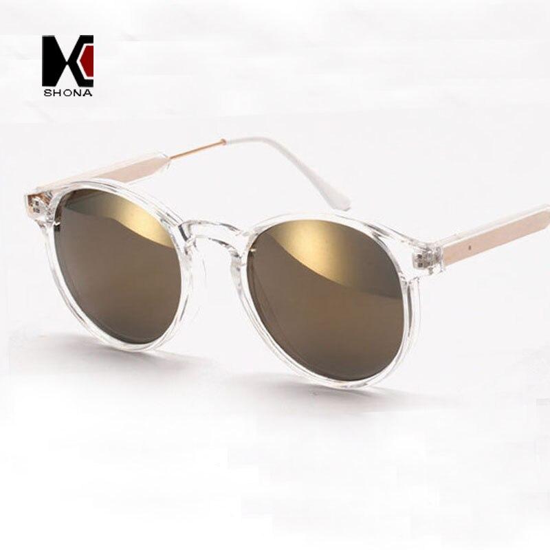 SHAUNA Round Sunglasses Brand Designer Women Keyhole Sun Glasses ...