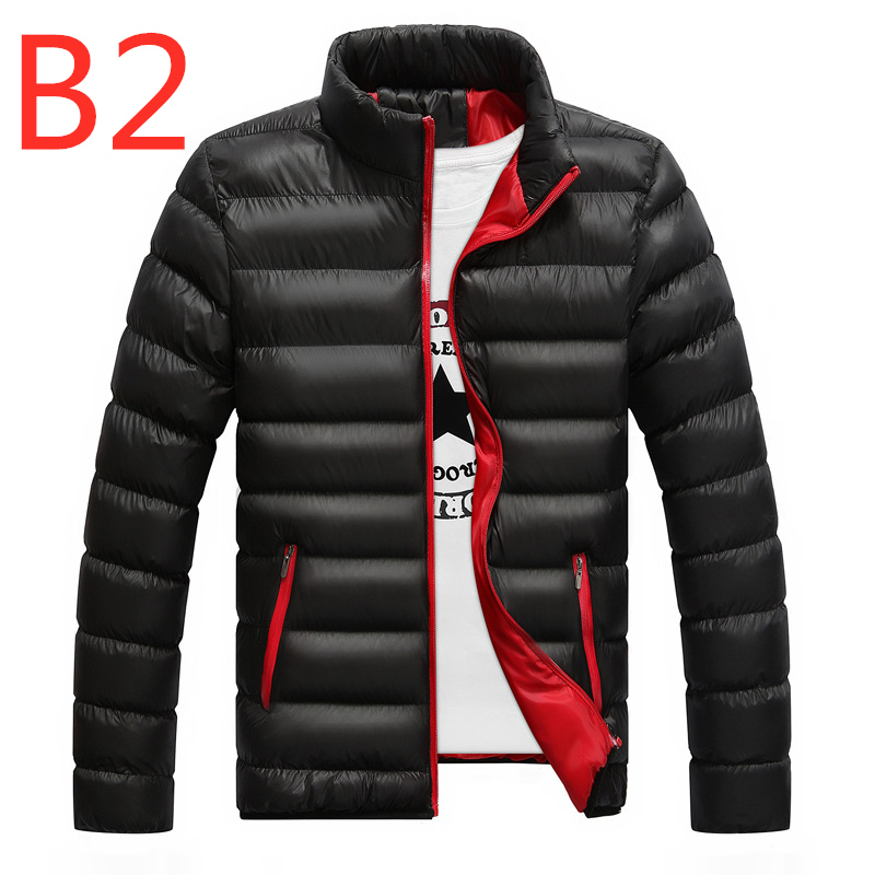 B2 2019 For Men's Ultralight White Duck down jacket Outdoor Winter Male casual