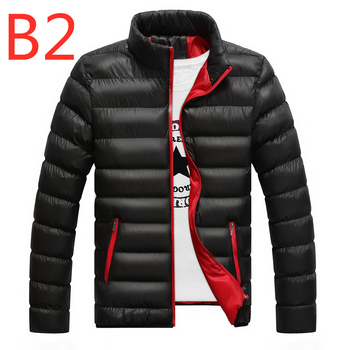 B2 2019 Winter For Men's Jacket Ultralight White Duck down jacket Men's down jackets Outdoor Winter Male casual down jacket Coat