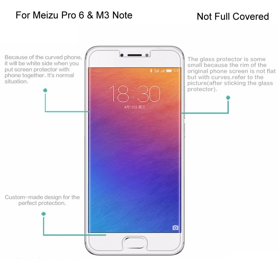 GXE Premium Tempered Glass Film For Meizu M5 Note M3 M2 Note M3x Pro - Ανταλλακτικά και αξεσουάρ κινητών τηλεφώνων - Φωτογραφία 2