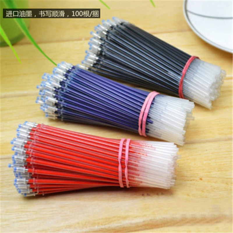 Gel Pen Bulle Refills Core Set Wholesale 0.5mm Needle Korea Stationery Refills Core Set  Replaceme Of Office And School Supplies