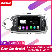 ZaiXi For Toyota Yaris 2012~2013 Car Android Multimedia System 2 DIN Auto DVD Player GPS Navi Navigation Radio Audio WiFi 4g ram ips android 9 0 car dvd radio gps multimedia player for toyota yaris 2012 2017 auto audio video 2 din stereo navigation