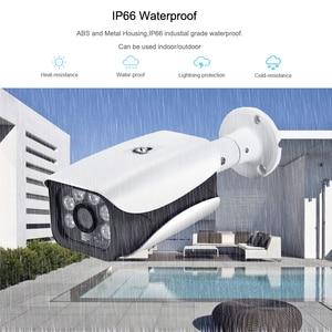 Image 3 - Hamrolte IP كاميرا H.265 سوني IMX323 UltraLow الإضاءة 3MP 2MP في الهواء الطلق كاميرا سي سي تي في مقاومة للمياه DC12V 48 فولت بو وحدة اختياري