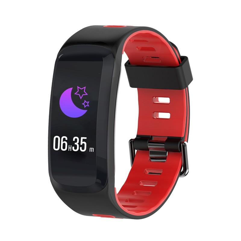 F4 Bracelet intelligent pression artérielle oxygène Fitness Bracelet IP68 étanche montres intelligentes hommes montre de Sport en plein air Bracelet en Silicone