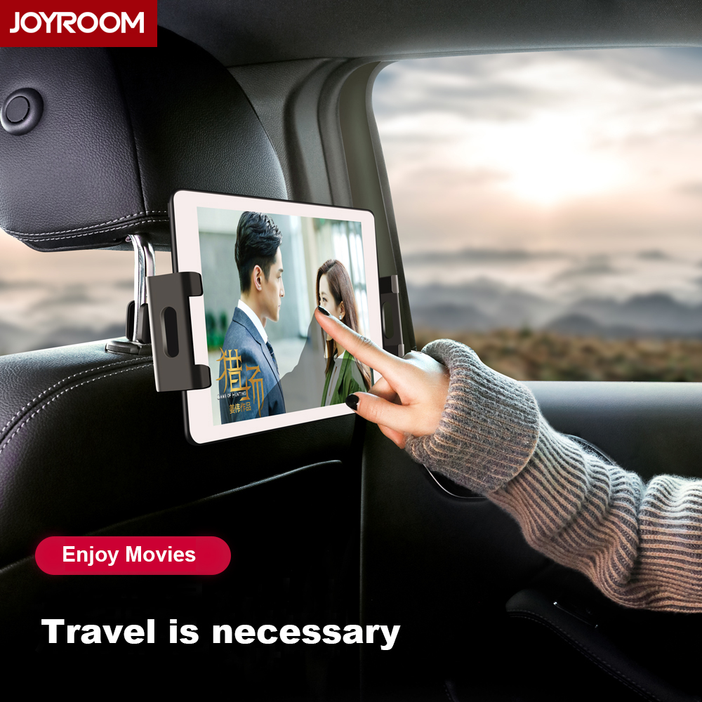 Joyroom Car back Seat Tablet Car Holder For iPhone Samsung XiaoMi Pad Fashion Universal Phone Holder 360 Degrees Rotation.