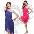 Nice & Hot Adult Tassel Sequins Clothing Customized Women's Dress