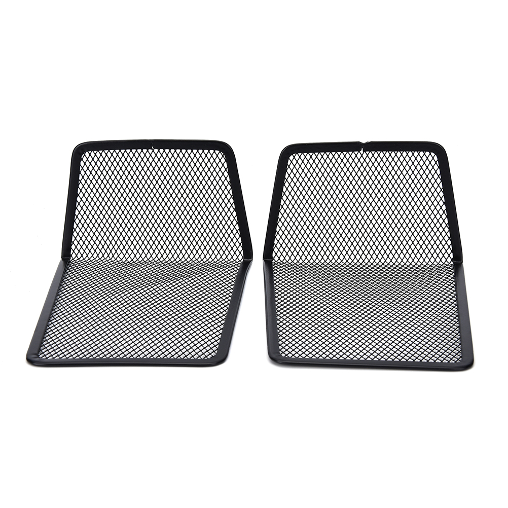 Office & School Supplies Desk Accessories & Organizer 1 Pair Metal Black Mesh Bookend Home Office Book Holder Shelf Accessory For Students Or Office