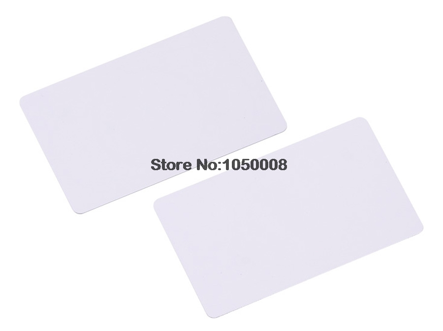 860MHz-960MHz ISO 18000-6C&EPC Gen2 UHF RFID long range PVC smart Card tag use for Vehicle and personnel management 860 960mhz long range passive rfid uhf rfid tag for logistic management