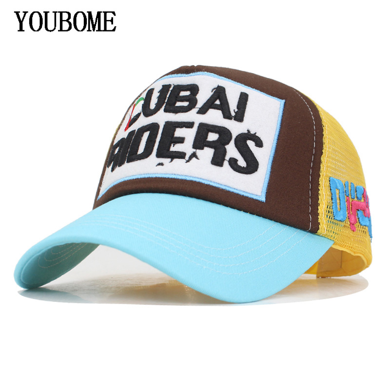 3a4c7ffaa1c YOUBOME Brand Mesh Baseball Cap Women Men Snapback Caps Hats For Men 5 Panel