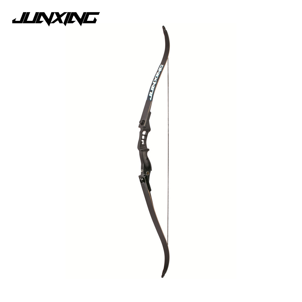 Black 30 50 Lbs Recurve Bow Length 54 Inches Riser Length 17 inches Adults American Bow