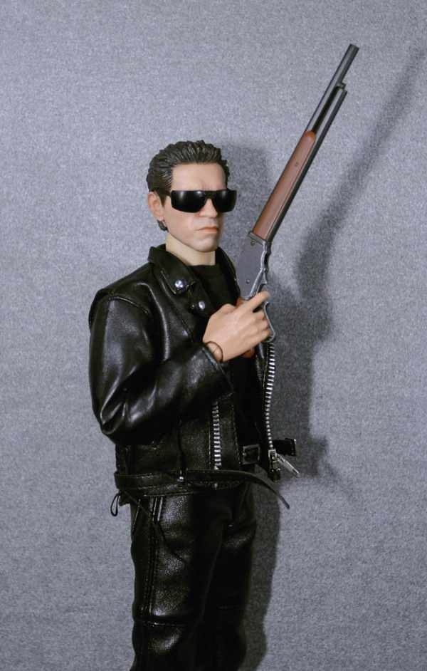 ZY Toys 1//6 Scale M1887 Shot Gun For  DX10 DX13 T800 Terminator In Stock