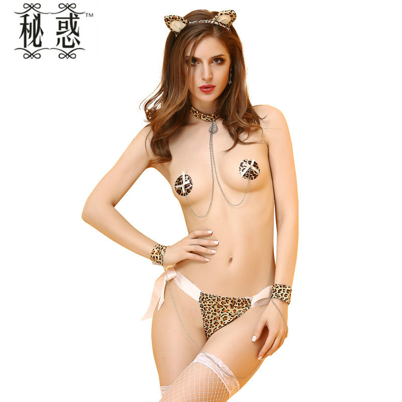 Buy Adult Games Catwoman Sex Bondage Nipple Sucker Collar Necklace Handcuffs Headdress 4 Pcs Sets Adult Sex Product Erotic Toys
