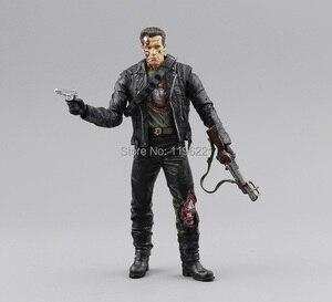 """Image 4 - (Geen Doos) gratis Verzending Neca The Terminator 2 Action Figure T800 Cyberdyne Showdown Pvc Figuur Toy 7 """"18Cm MVFG132"""