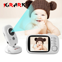 VB603 Video Baby Monitor electronic Wireless With LCD TWO Way Talk Night Vision Surveillance Security Camera Baby Monitors