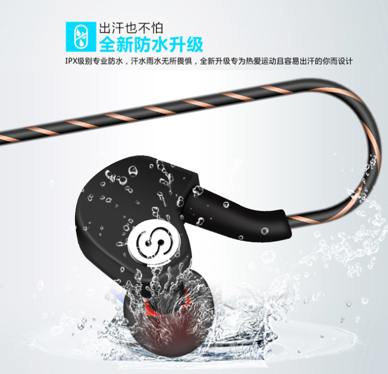 Professional Earphone Metal Heavy Bass Music Earpiece for Lenovo Vibe X2 X3 / Z2 Pro fone de ouvido