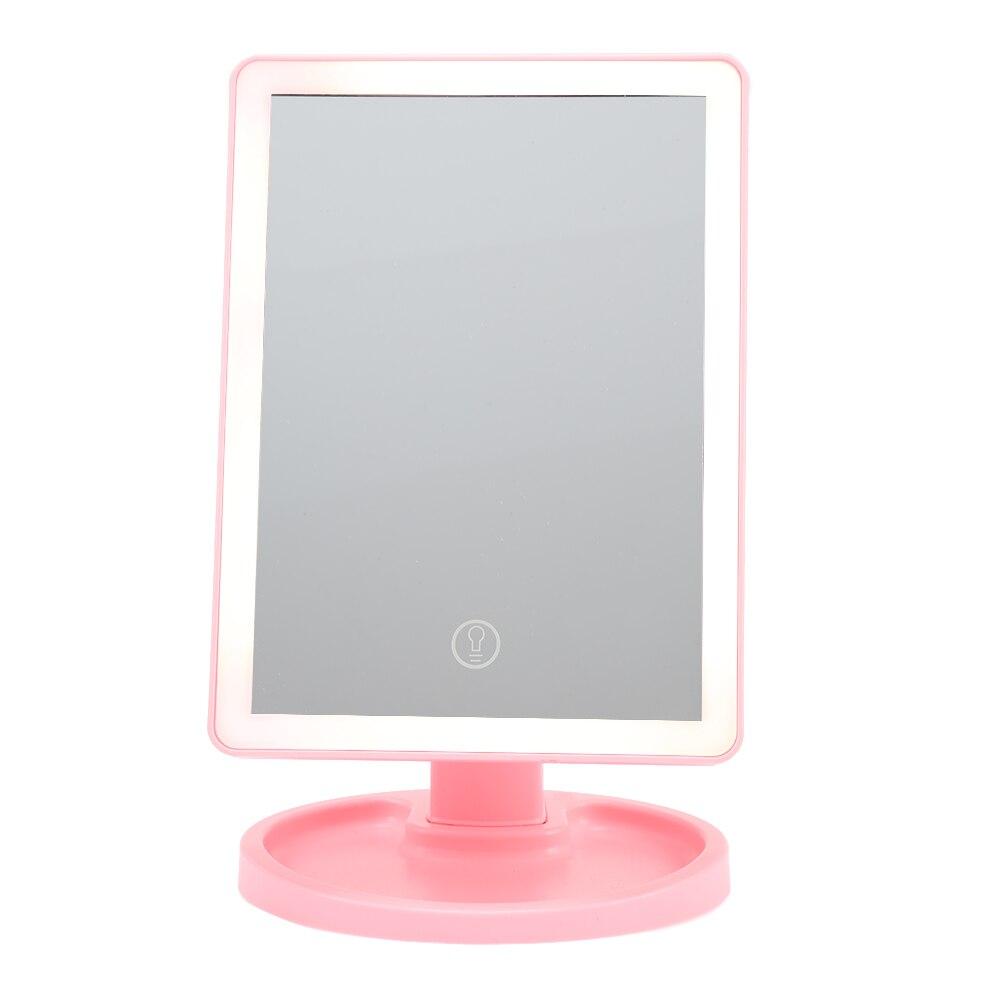 Ruimio 16 Led Touch Bildschirm Einstellbar Tabletop Led Beleuchtete Kosmetik Eitelkeit Make-up Spiegel Vergrößerung Tragbare Kompakte Spiegel Bestellungen Sind Willkommen. Haut Pflege Werkzeuge