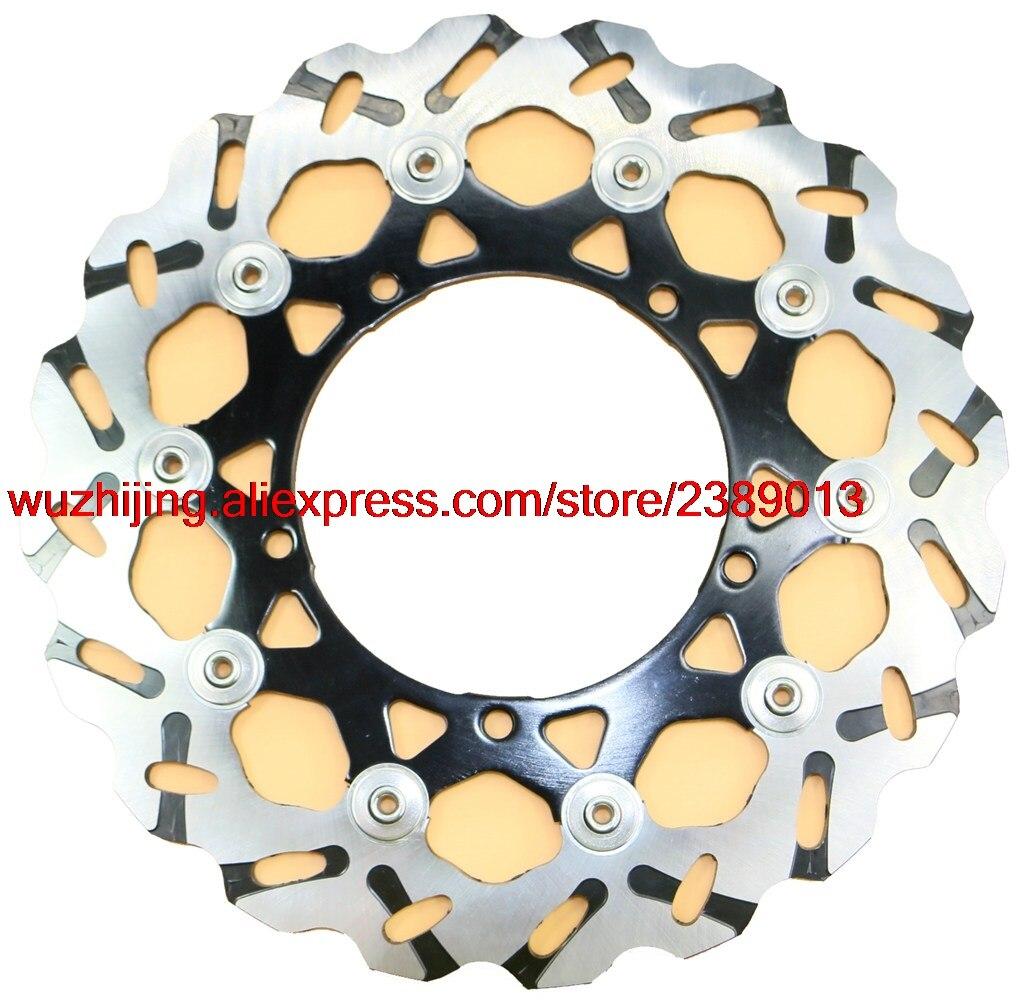 Brake Disk Rotor fit YAMAHA YZFR1 YZF-R1 YZF1000 YZF R1 1000 2007 - 2011 / YZFR6 YZF-R6 YZF6000 YZF R6 600 2005 - 2015 стоимость