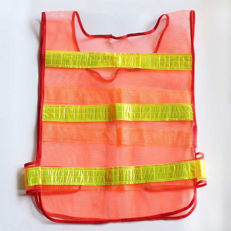 YIJINSHENG High Visibility Traffic Warning Reflective Safety Vest Clean Road Construction Working Clothing Motorcycle Ventilate