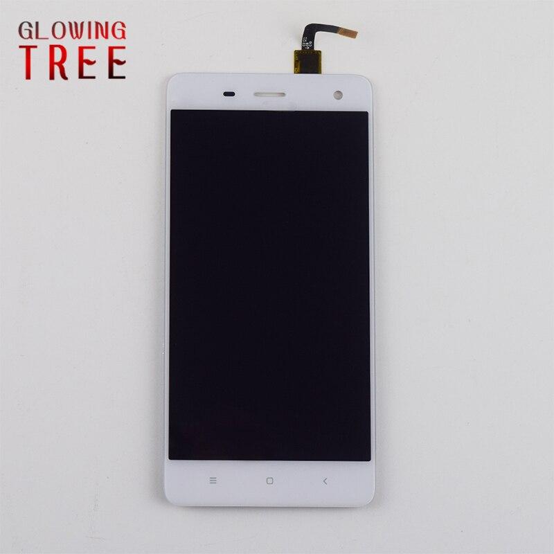 Noir/WhiteFor XiaoMi Mi4 Écran Tactile Numériseur Capteur + LCD Affichage Panneau Écran Moniteur Module Assemblée