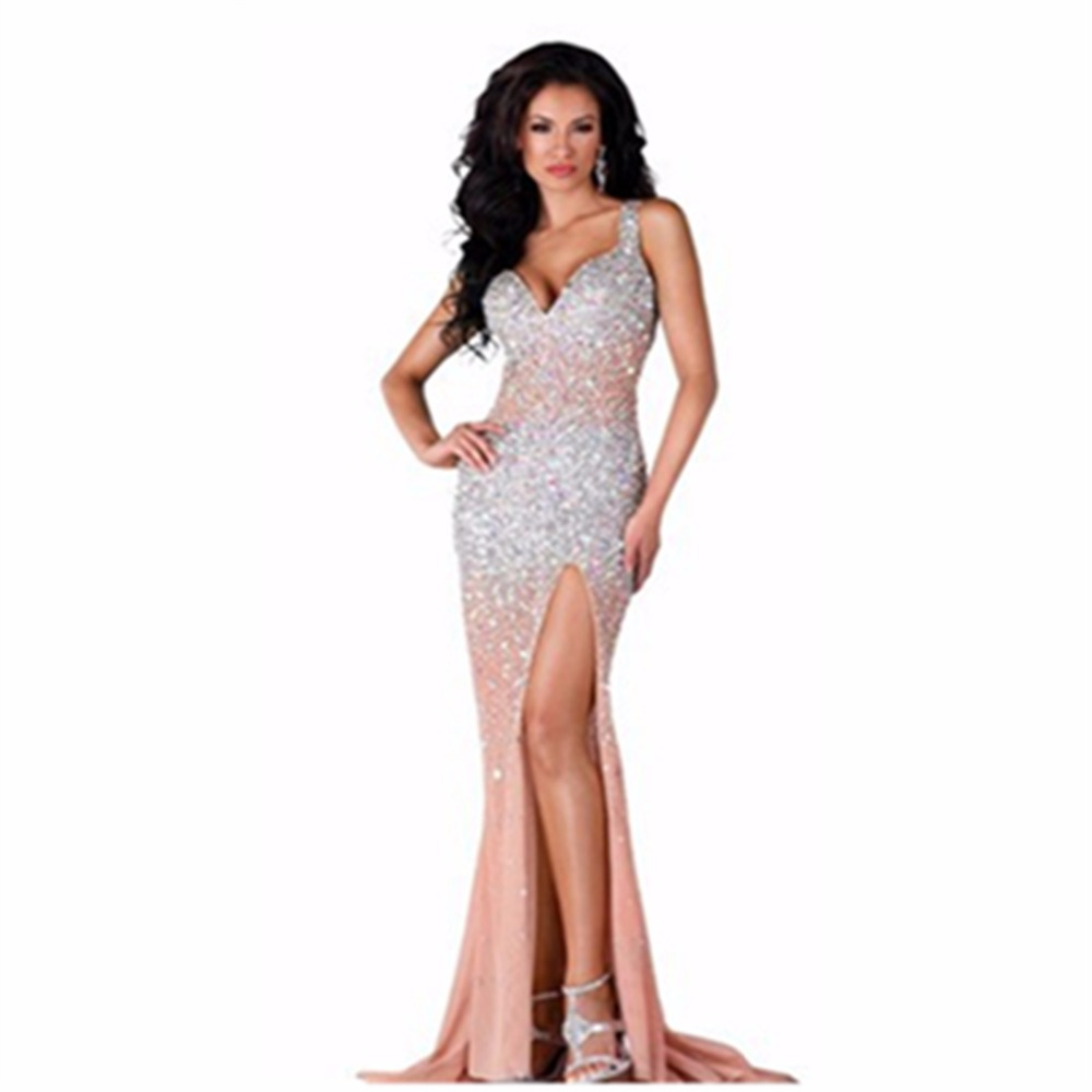 Online Buy Wholesale long sparkly dresses from China long sparkly ...