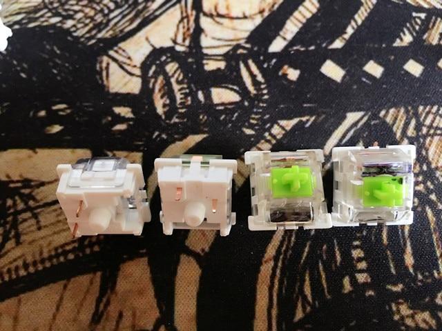 10pcs/lot chery  RGB( non clicK) Keyboard switch