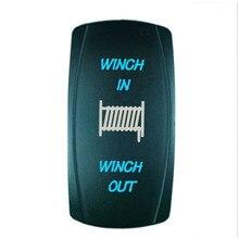 цена на 12V 20A auto LED lamp rocker switch rocker switch car universal rocker switch