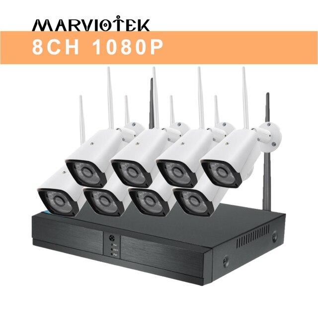 8CH 1080P  NVR Kits Home camera system poe 5c64b43a3151b