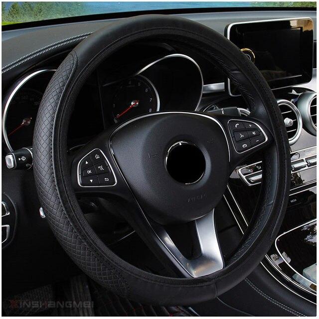 Couverture de volant de voiture pour Renault Latitude Laguna Frendzy DeZir Safrane ZE Megane Kadjar r-space Z17 Vel