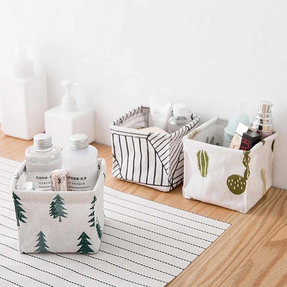 Storage Bin Closet Toy Box Container Organizer Fabric Basket