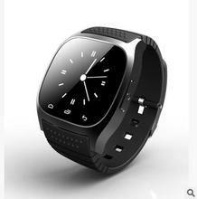 2016 Inteligente android bluetooth relojes cámara Remota Podómetro reloj hombres mujeres ayudante de Salud llamada Respuesta Recibir mensaje reloj