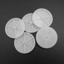 Gears Plastic Teeth 80T Spur New--Fd867 5pcs/Lot 7MMX41MM Modulus-T--80-Aperture:2mm