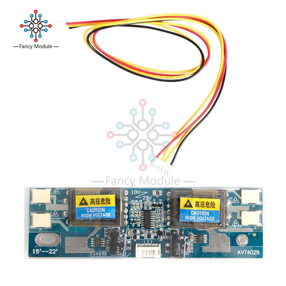 Универсальный инвертор CCFL, фотолампа 10-30 в для широкоформатного экрана 15-22 дюйма