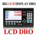 Полный станок 2-осевой цифровой индикации Dro большой ЖК-дисплей для машин