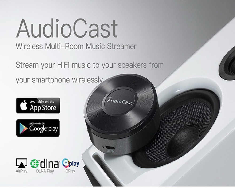 Detail Feedback Questions about Wireless AudioCast M5