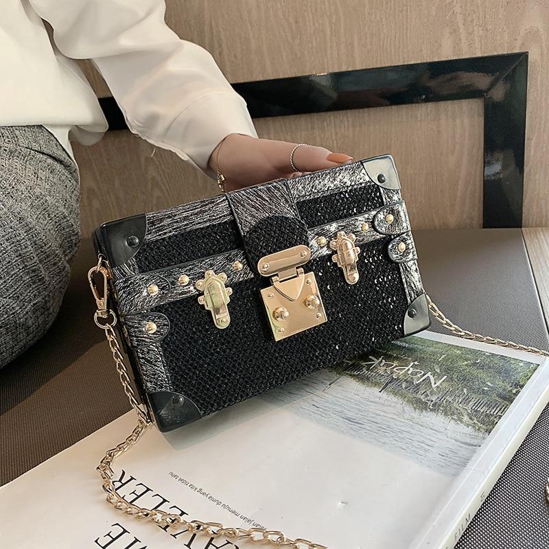 Brand Design Korean Vintage Shoulder Bag small Flap bag female 2019 new fashion Large capacity chain Crossbody Bag Messenger bag 1